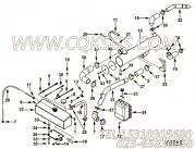 【软管】康明斯CUMMINS柴油机的3913752 软管
