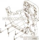 【发动机L280 20的齿轮室组】 康明斯六角法兰面螺栓报价,参数及图片