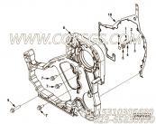 【发动机B5.9-195G的齿轮室组】 康明斯矩形密封圈报价,参数及图片