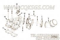 【进气口连接】康明斯CUMMINS柴油机的5285779 进气口连接