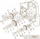 3882513隔套,用于康明斯M11-C310动力气缸体组,更多【柳工推土机】配件报价