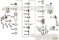 3882793十二角螺栓,用于康明斯M11-C350H发动机发动机性能件组,更多【中联重科推土机】配件报价
