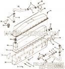 3060552中冷器出水管,用于康明斯NYA855-G4柴油机进气管组,更多【发电用】配件报价