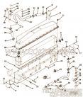 66748隔套,用于康明斯NTC-350柴油机进气管组,更多【大江特种车】配件报价