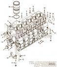 【C3971386A】缸体 用在康明斯发动机