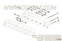 3011510中冷器室安装,用于康明斯KTA19-M600发动机进气管安装组,更多【船机】配件报价