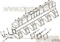 【进气歧管垫片】康明斯CUMMINS柴油机的4975637 进气歧管垫片