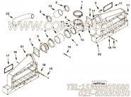 3393154进气管,用于康明斯KTA38-M1动力进气管组,更多【船用主机】配件报价