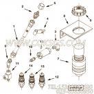 【十字轴滚针轴承卡环】康明斯CUMMINS柴油机的3629906 十字轴滚针轴承卡环
