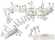 【Clamp, T Bolt】康明斯CUMMINS柴油机的4086587 Clamp, T Bolt