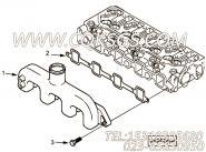 【进气歧管垫片】康明斯CUMMINS柴油机的4900353 进气歧管垫片