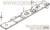 【发动机ISL9.5-325E40A的进气歧管盖组】 康明斯进气盖板报价,参数及图片