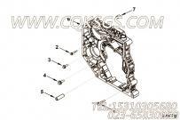 【发动机ISB6.7E5285的齿轮室组】 康明斯后齿轮室报价,参数及图片