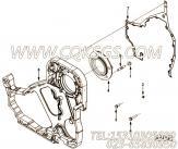 【发动机6CTA8.3-C240-II的燃油泵安装件组】 康明斯矩形密封圈报价,参数及图片
