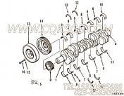 3019186主轴瓦,用于康明斯NT855-C250主机基础件组,更多【材料运输车】配件报价