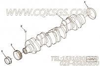 3084445曲轴齿轮,用于康明斯M11-C350H发动机气缸体组,更多【材料运输车】配件报价