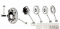 【Guard, Vibration Damper】康明斯CUMMINS柴油机的3004898 Guard, Vibration Damper