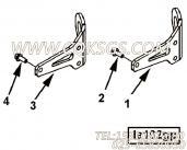 【六角法兰六角螺钉】康明斯CUMMINS柴油机的3681160 六角法兰六角螺钉