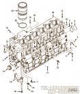 【发动机ISL9.5-375E40A的缸体组】 康明斯六角法兰面螺栓报价,参数及图片