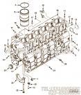 【发动机ISC8.3-270E40A的缸体组】 康明斯六角法兰面螺栓报价,参数及图片