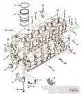 【柴油机C8.3-325的缸体加油附件组】 康明斯碗形塞报价,参数及图片