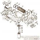 【锁紧垫圈】康明斯CUMMINS柴油机的S 603 锁紧垫圈