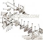 【机油冷却器支持垫片】康明斯CUMMINS柴油机的3066276 机油冷却器支持垫片