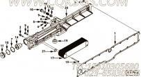 【C4965482】机油冷却器芯 用在康明斯引擎