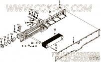 【机油滤清器冷却器头】康明斯CUMMINS柴油机的4965901 机油滤清器冷却器头