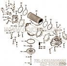 【机油滤头】康明斯CUMMINS柴油机的4912908 机油滤头