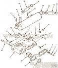 【机油冷却器】康明斯CUMMINS柴油机的3882324 机油冷却器