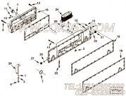 【电缆支架】康明斯CUMMINS柴油机的4009289 电缆支架