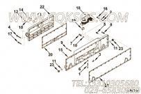 【冷却器芯】康明斯CUMMINS柴油机的4095096 冷却器芯