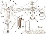 【机油冷却器盖】康明斯CUMMINS柴油机的3918403 机油冷却器盖