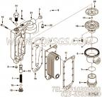 【六角法兰六角螺钉】康明斯CUMMINS柴油机的3916073 六角法兰六角螺钉