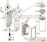 【引擎6CTAA8.3-C220的机油冷却器组】 康明斯机油冷却器芯报价,参数及图片