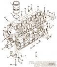 【柴油机ISL8.9E5380的缸体组】 康明斯缸体报价,参数及图片