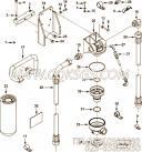 3328512机油管,用于康明斯M11-C225H柴油发动机机油滤组,更多【混应土拖泵】配件报价
