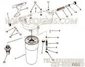 205347旁通阀柱塞,用于康明斯KTA19-G4柴油发动机机油滤清器组,更多【动力电】配件报价