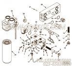 【油流形】康明斯CUMMINS柴油机的3965788 油流形