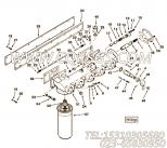 205350护圈塞,用于康明斯KTA19-P425动力机油滤清器组,更多【应急水泵机组】配件报价
