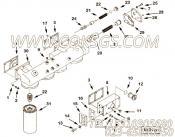 3627927压力调节柱塞,用于康明斯KTA38-M1柴油发动机机油滤清器组,更多【船机】配件报价