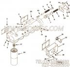 3629387机油滤清器衬垫,用于康明斯KTA38-M1柴油发动机机油滤清器组,更多【船用】配件报价