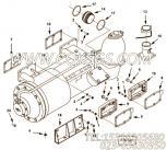 3629112加油口盖,用于康明斯KTA38-M1发动机曲轴箱通风器组,更多【轮船用】配件报价