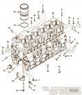 【引擎ISC8.3-230E40A的缸体组】 康明斯六角头螺栓报价,参数及图片