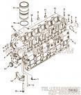 【汽缸体】康明斯CUMMINS柴油机的3939311 汽缸体