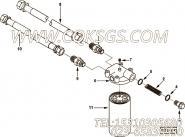 【柔性软管】康明斯CUMMINS柴油机的3864036 柔性软管