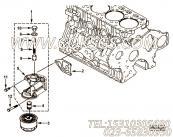 【机油滤头】康明斯CUMMINS柴油机的4901049 机油滤头