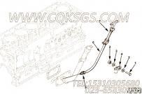 3328853机油尺,用于康明斯M11-C175主机加油口布置组,更多【打桩机】配件报价