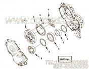 【C2864884】惰轮轴 用在康明斯柴油发动机